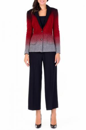 Пиджак XARIZMAS. Цвет: 103, серо-красный