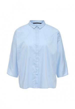 Блуза Silvian Heach. Цвет: голубой