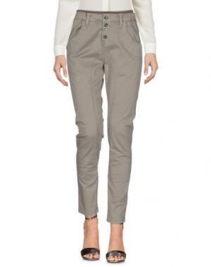 Повседневные брюки SHOCKLY. Цвет: зеленый-милитари