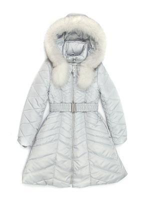 Пальто Cleverly. Цвет: светло-серый