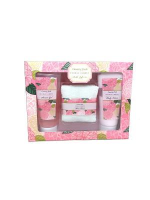 Подарочный набор Floral Garden 3 пред. Country Fresh. Цвет: кремовый