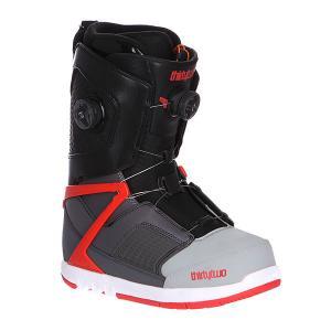 Ботинки для сноуборда  Focus Boa Grey/Black/Red Thirty Two. Цвет: черный,серый,красный