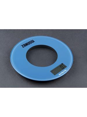 Кухонные весы Bologna, синий Zanussi. Цвет: синий