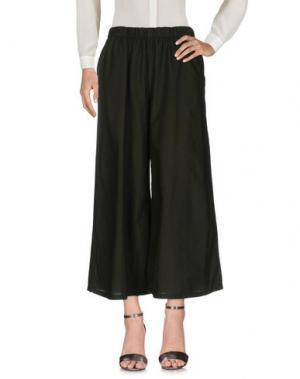 Повседневные брюки LABO.ART. Цвет: темно-зеленый