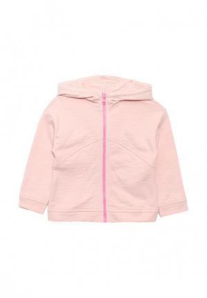 Толстовка United Colors of Benetton. Цвет: розовый