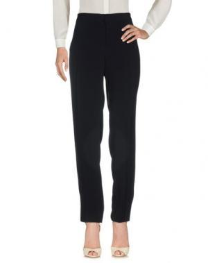 Повседневные брюки FONTANA COUTURE. Цвет: темно-синий