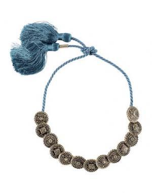 Ожерелье DSQUARED2. Цвет: цвет морской волны