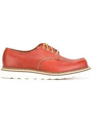 Туфли на шнуровке Portage Red Wing Shoes. Цвет: коричневый