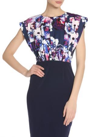 Платье PAPER DOLLS. Цвет: синий