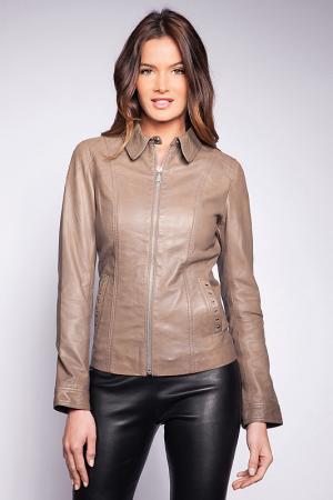 Куртка Giorgio. Цвет: серый