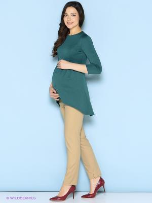Туника Trendy Tummy. Цвет: зеленый