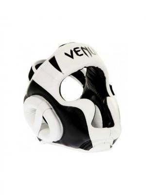 Шлем боксерский Venum Absolute Headgear 100% Premium Leather - White. Цвет: белый