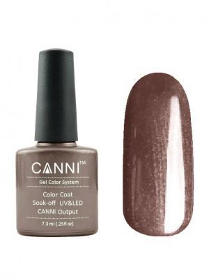 Гель лак №203 CANNI. Цвет: серо-коричневый