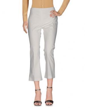 Повседневные брюки FASHION. Цвет: белый