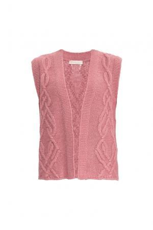 Жилет 154532 Sweet Sweaters. Цвет: розовый