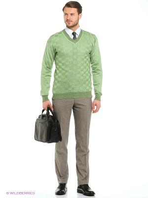 Джемпер Veronika Style. Цвет: светло-зеленый
