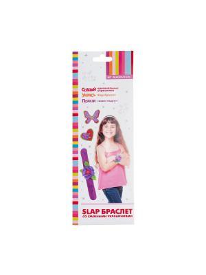 Набор для детского творчества Slap браслет HIT IMAGINATION. Цвет: фиолетовый
