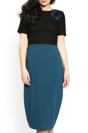 Платье Moda di Chiara. Цвет: black and blue