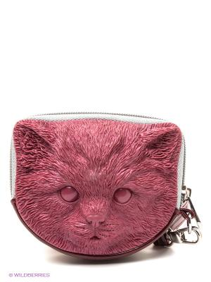 Сумка 3D Tuna Kitten Adamo. Цвет: темно-красный