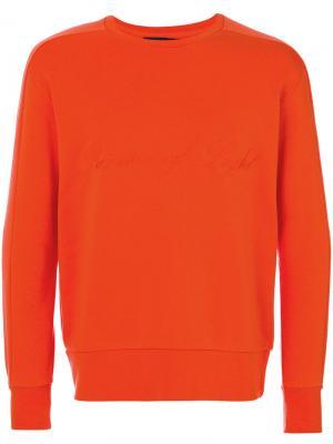 Толстовка Linear Natural Selection. Цвет: жёлтый и оранжевый