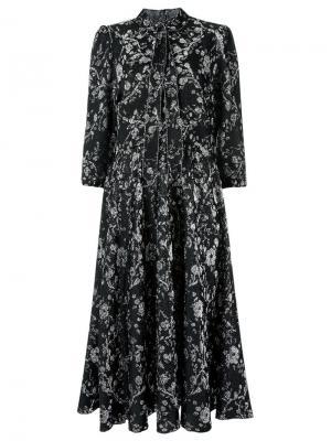 Knit midi dress Gig. Цвет: чёрный