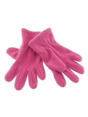 Перчатки CHICCO. Цвет: розовый