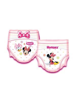 Подгузники Ultra Comfort Размер 3 5-9кг 94шт для девочек промо HUGGIES. Цвет: розовый