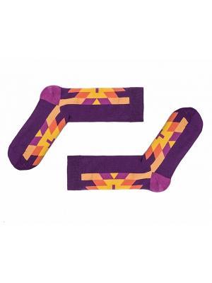 Носки Sammy Icon. Цвет: фиолетовый, желтый