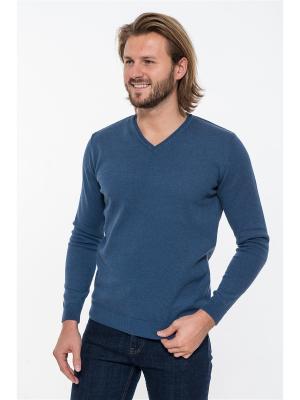 Пуловер Westrenger. Цвет: серо-голубой