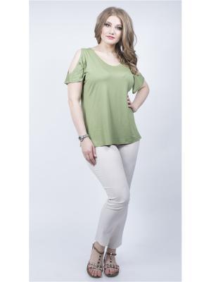 Блузка SPARADA. Цвет: серо-зеленый