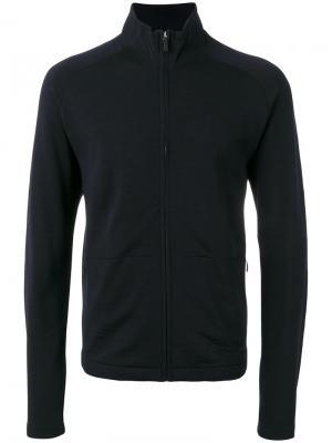 Куртка с высокой горловиной Z Zegna. Цвет: чёрный
