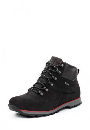 Ботинки трекинговые Giatoma Niccoli. Цвет: черный