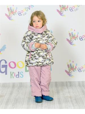 Комплект демисезонный для девочки Лика GooDvinKids. Цвет: розовый