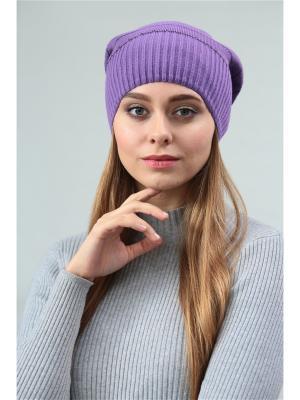 Шапка Krife. Цвет: фиолетовый, антрацитовый, черный