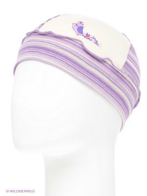 Шапка YO!. Цвет: фиолетовый