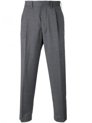 Укороченные брюки Tonga The Gigi. Цвет: серый