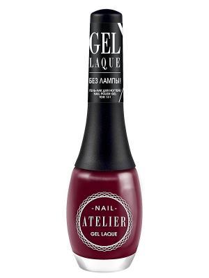 Гель-лак для ногтейNail Atelier тон 131, 12мл Vivienne Sabo. Цвет: темно-бордовый