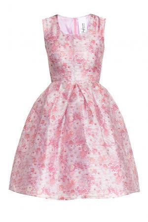 Платье 160658 Infinee. Цвет: разноцветный