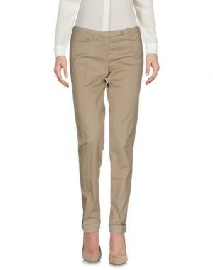 Повседневные брюки WEBER. Цвет: хаки
