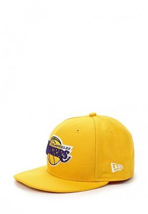 Бейсболка New Era. Цвет: желтый