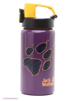 Бутылка для воды KIDS SPORT BOTTLE 0,5 Jack Wolfskin. Цвет: сиреневый