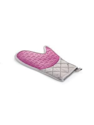 Прихватка варежка Elff Ceramics. Цвет: серый, розовый