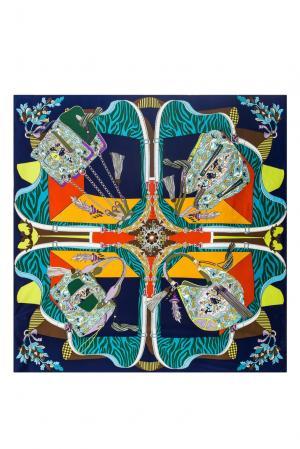 Шелковый платок 183388 Moltini. Цвет: разноцветный