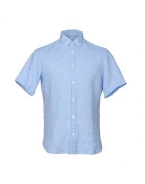 Pубашка DANOLIS per SCAGLIONE CITY. Цвет: небесно-голубой