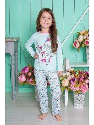 Комплект одежды Sweet Berry. Цвет: светло-зеленый