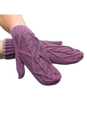 Варежки SenSy. Цвет: фиолетовый