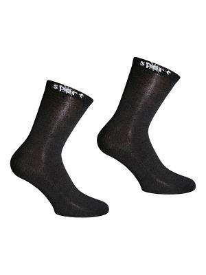 Носки, 2 пары Master Socks. Цвет: черный