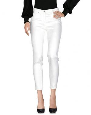 Повседневные брюки 22 MAGGIO by MARIA GRAZIA SEVERI. Цвет: слоновая кость