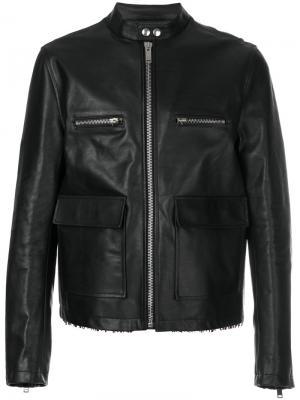 Куртка на молнии Golden Goose Deluxe Brand. Цвет: серый