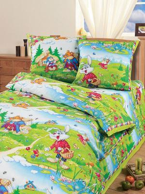 Постельное белье Арт Постель. Цвет: светло-зеленый, бордовый, светло-голубой, желтый